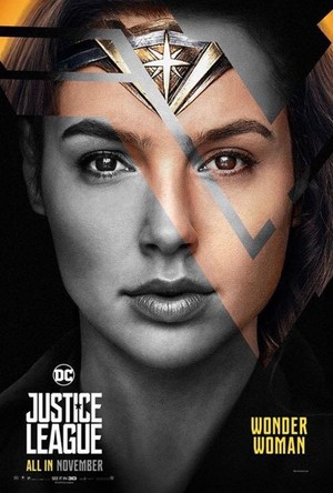 Justice League (2017) Poster - Wonder Woman