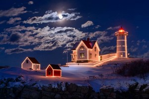 Lighthouse Krismas
