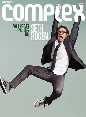 Seth Rogen - Complex Cover - 2011