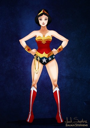 Snow White as Wonder Woman