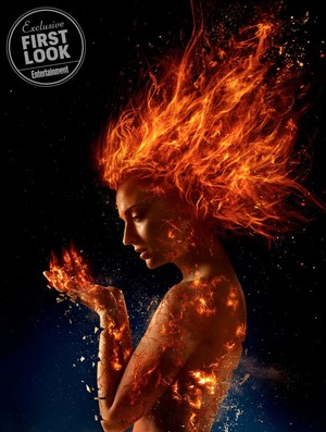Sophie Turner as Jean Grey in X-Men: Dark Phoenix First Look