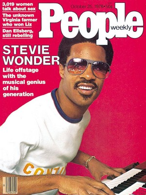 Stevie Wonder On The Cover Of People Magazine