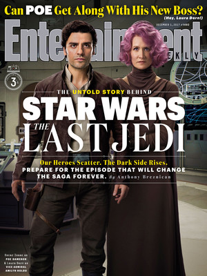 The Last Jedi EW covers