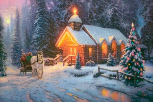 Thomas Kinkade Christmas