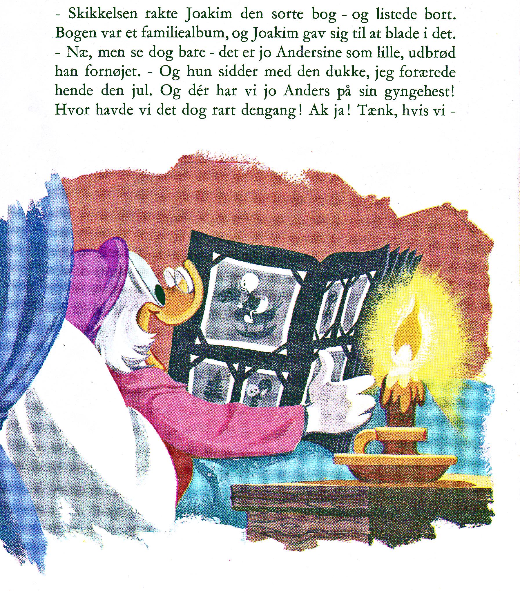 Andersines Album walt disney book scans – uncle scrooge's christmas eve