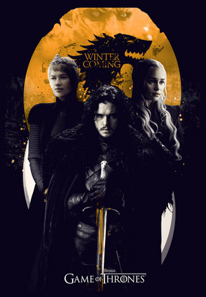 game of thrones poster hd