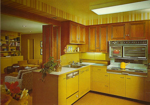 "A Kitchen From The ""'70's"""