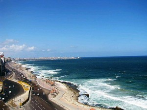 ALEXANDRIA SEA IN EGYPT