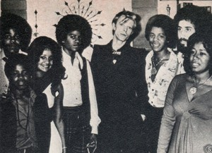 David Bowie With The Jackson Family