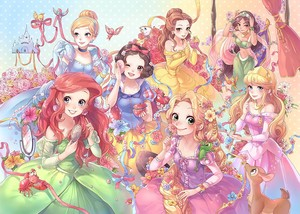 Disney Princess Japon