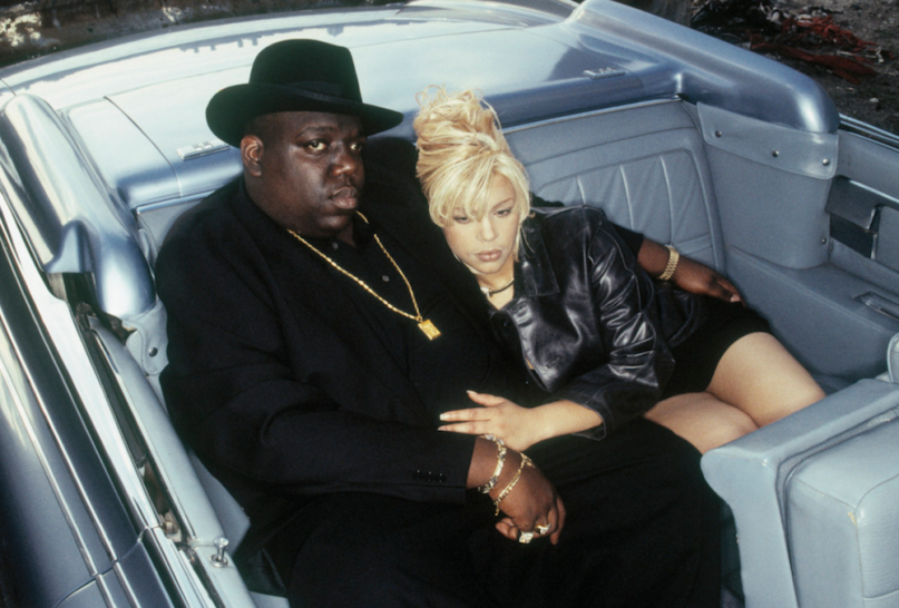 Faith Evans And Notorious B. I. G.