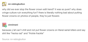 Flower Crown Fad