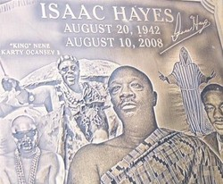 Gravesite Of Isaac Hayes