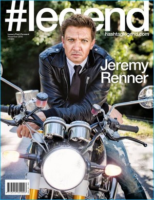 Jeremy Renner - Legend Cover - 2016