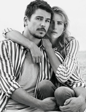 Josh Hartnett and Dree Hemingway - Marc O'Polo Photoshoot - Spring/Summer 2016