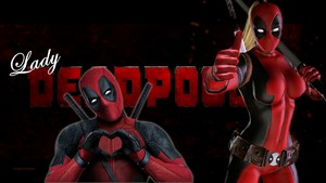 Lady Deadpool Wallpaper - 9a
