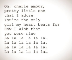 Lyrics To My Cherie Amour