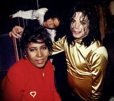 Michael And Aretha Franklin