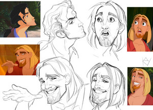 Miguel and Tulio Sketches
