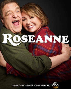 Rosanne Revival - Season 10 Poster - Dan and Roseanne