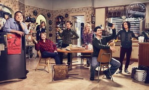 Roseanne Cast's Entertainment Weekly Portrait