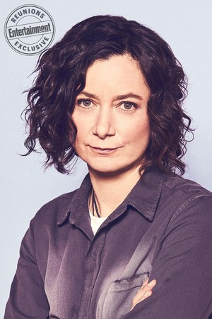 Roseanne Cast's Entertainment Weekly Portraits - Sara Gilbert as Darlene Conner