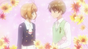Sakura and Syaoran - Cardcaptor Sakura Clear Card