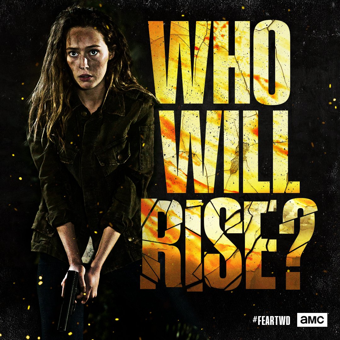 Season 4 Teaser Poster Who Will Rise Alicia Clark Fear The