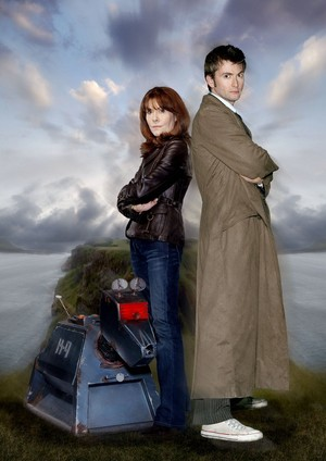 Tenth and Sarah Jane Smith