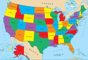 The Fifty States of America