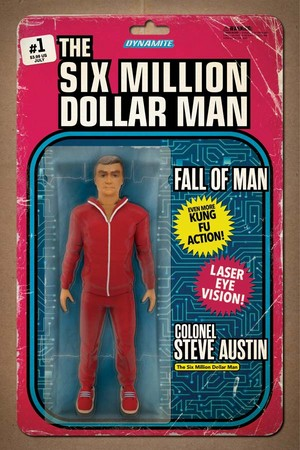 The Six Million Dollar Man Action Figure