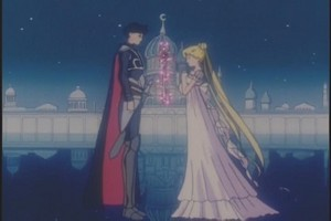 Tuxedo Mask and Princess Serenity