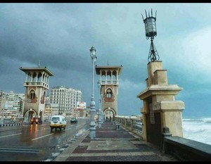 WINTER ALEXANDRIA EGYPT