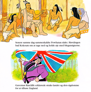 Walt Disney Book Scans – Pocahontas (Danish Version)