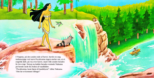 Walt ディズニー Book Scans – Pocahontas (Danish Version)