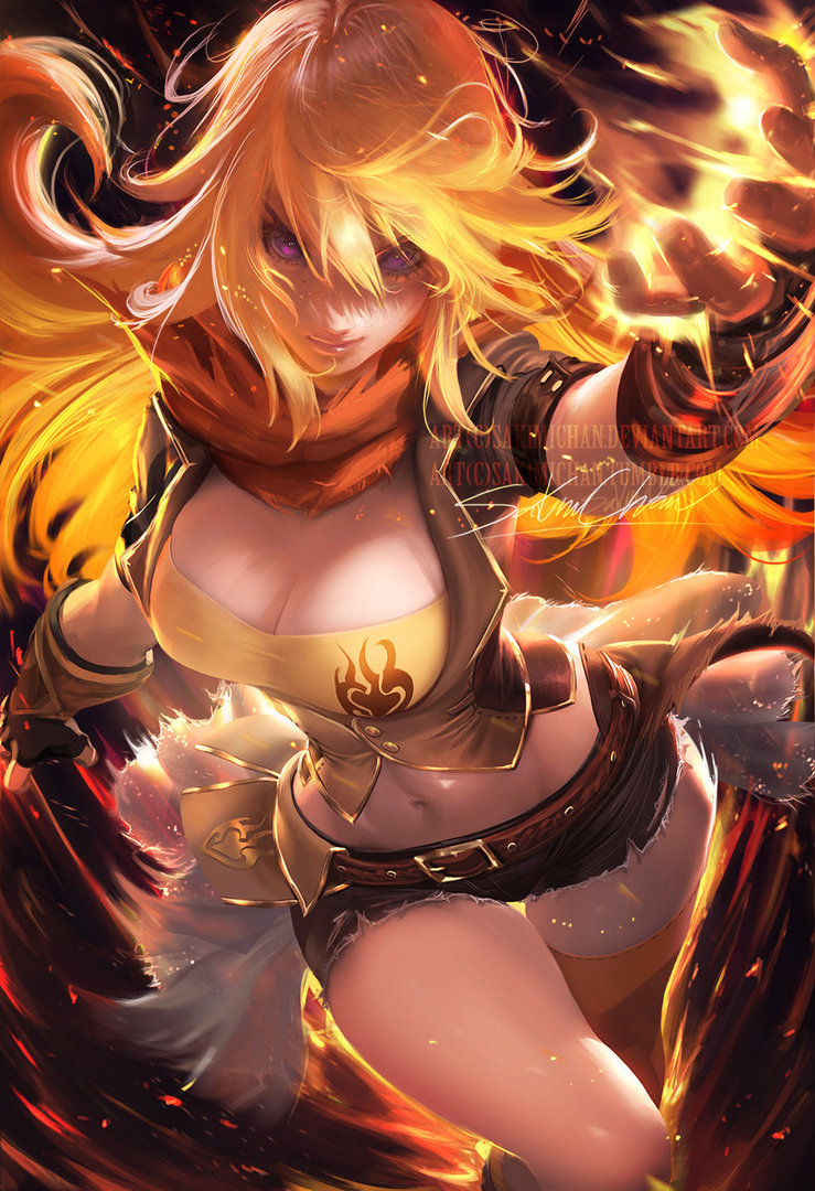 Yang Xiao Long Thelefteris24 Fã Art 40905690 Fanpop