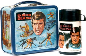 A Vintage Lunchbox And Thermos Set