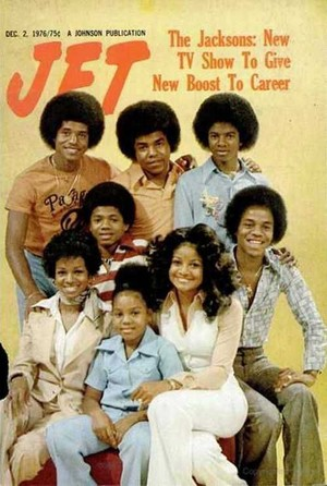 The Jacksons On The Cover Of Jet