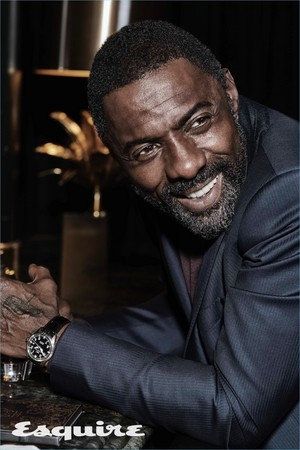 Idris Elba 2017 Esquire Cover Photoshoot