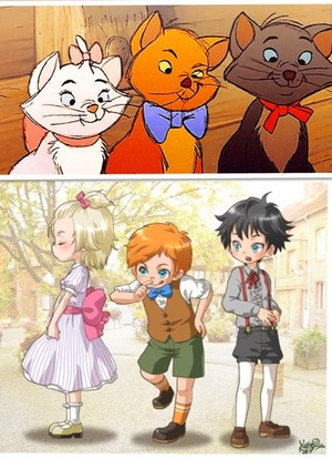 Kittens As Children