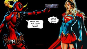 Lady Deadpool fond d'écran Got the Drop 2a