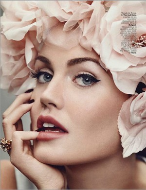 Lady Kitty Spencer Marie Claire Magazine Spain