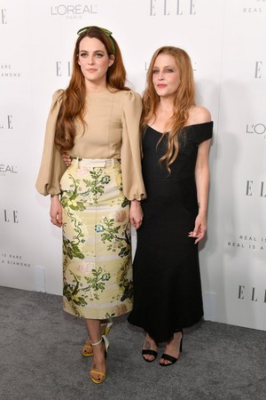 Lisa Marie And Daughter, Riley Keough