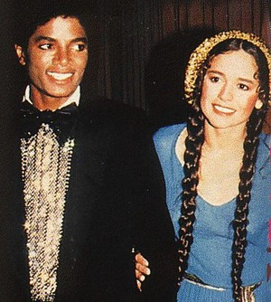 Michael Jackson And Nicolette Larson