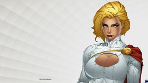 Power Girl Up Close
