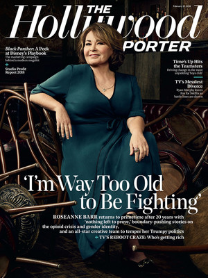 The Hollywood Reporter Cover - Roseanne Barr