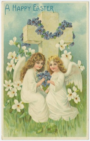 Vintage Easter Angels