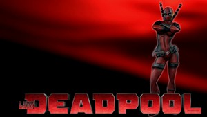 Lady Deadpool Wallpaper - On Love 2