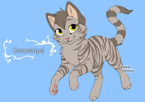 warrior cats character design templates graystripe by warriorcatscrazy d4hc2hg