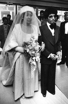 Aretha's Wedding Back In 1978